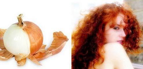 Луковая шелуха для волос - 6 лучших рецептов масок   окрашивание волос