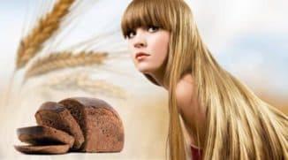 маска для волос из черного хлеба для дам