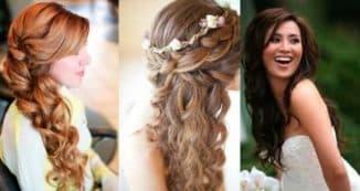 прически на длинные волосы коса на бок