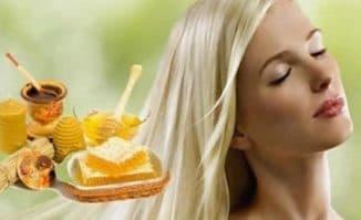 маска для волос корица мед для блондинок
