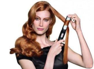 быстро накрутить волосы на утюжок