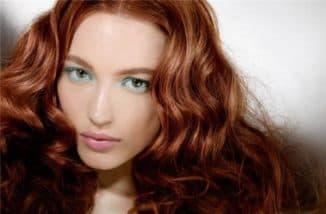 медно коричневый цвет волос