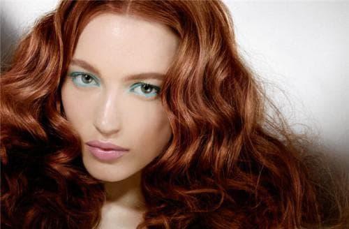 Красная медь цвет волос