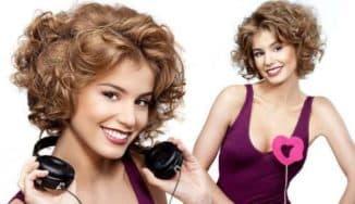 как сделать красивую завивку на средний волос