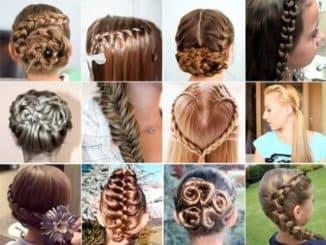 какие прически можно делать на средние волосы