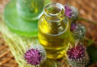 помогает ли репейное масло от перхоти