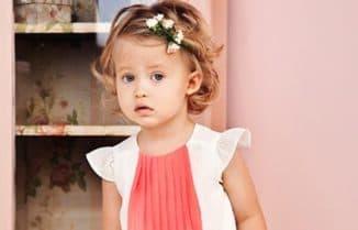 прически на короткие волосы девочке 2 лет