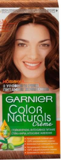 гарньер Color Naturals 6.34 Карамель