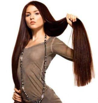 стрижка на очень длинные волосы с челкой