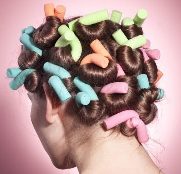 Как правильно закрутить бигуди на короткие волосы