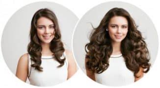 что лучше волосы на заколках или наращивание