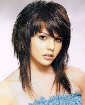 женская стрижка шапочка +на средние волосы