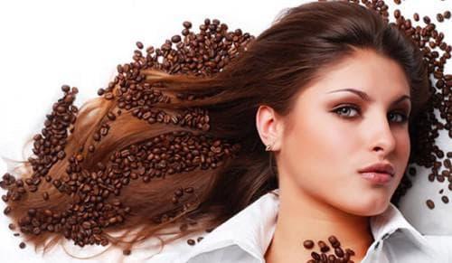 Маска для волос из молотого кофе