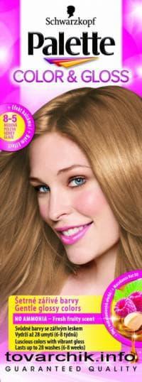 краска Palette Color & Gloss 5-0 с глазурью