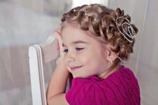 красивые детские прически