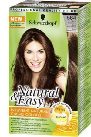 краска chwarzkopf Natural&Easy – оттенок «шоколадный