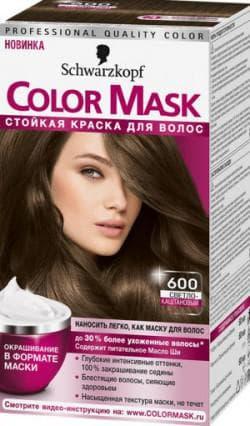 краска для волос Шварцкопф Color Mask 600 «светло-каштановый»