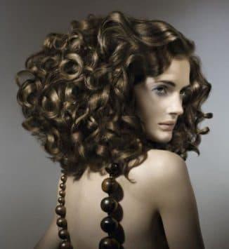 виды химической завивки волос крупные локоны