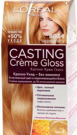 краска L`Oreal Paris для медовых волос