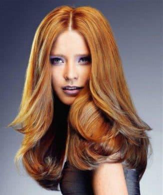 медово рыжий цвет волос