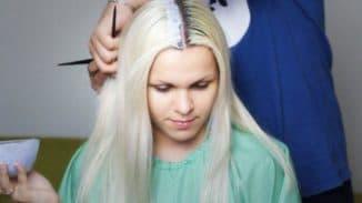 как правильно покрасить длинные волосы