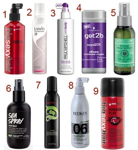 Средства для укладки волос для женщин для тонких длинных и коротких