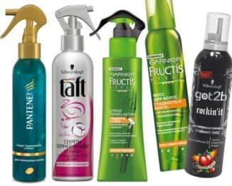 профессиональный спрей для укладки волос