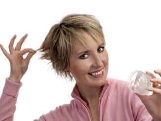 использование воска для волос