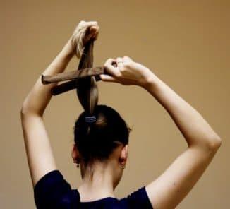 заколка для волос для пучка