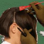 трафареты для окрашивания волос