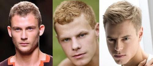 спортивный стиль мужской причёски