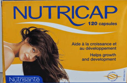 таблетки от выпадения волос Нутрикап для женщин