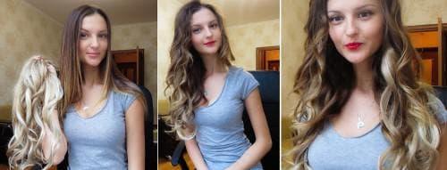 откуда берут ненатуральные волосы