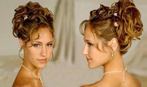 греческая причёска Лампадион на средние волосы