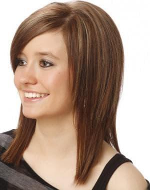 стрижки для овального лица и тонких волос средней длины