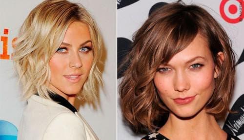 стрижки для треугольного лица и тонких волос