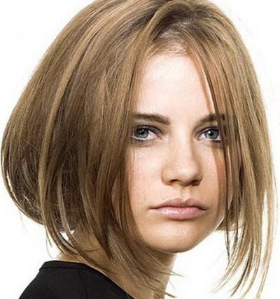 стрижки для узкого лица и тонких волос