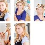 Как правильно накручивать на плойку волосы разной длины