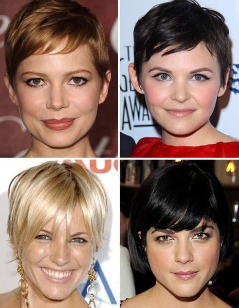 стрижки для квадратного лица и тонких волос