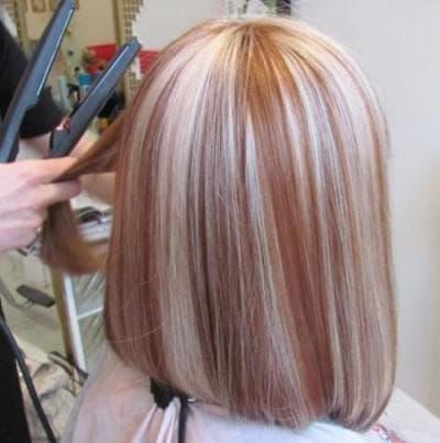 колорирование в парикмахерской