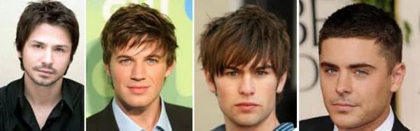 причёска на круглую форму лица мужчины