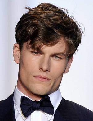 причёска на квадратную форму лица мужчины