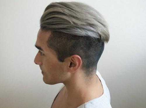 седой цвет волос у мужчины