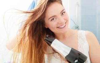 как уложить волосы феном чтобы был объем