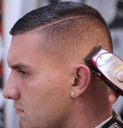 мужская причёска бокс