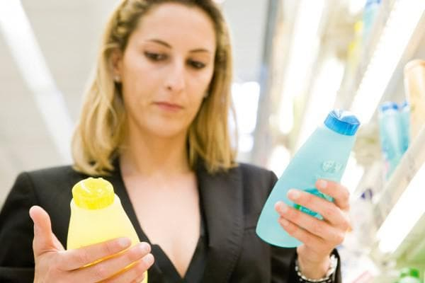выбор шампуня с витаминами