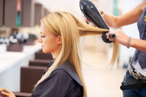 метод сушки волос Бомбаж