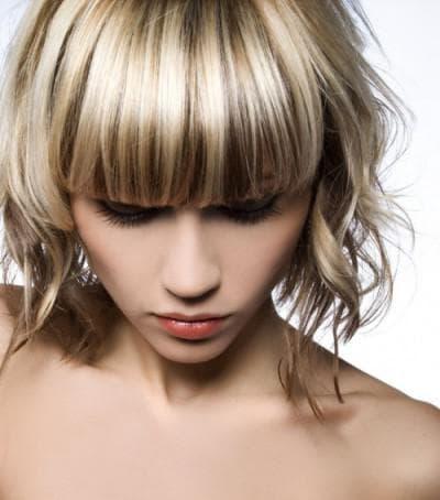 мраморное окрашивание волос штопка
