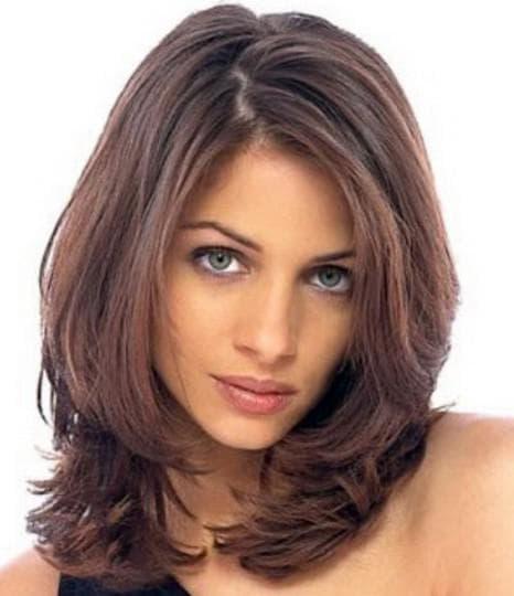 стрижка лесенка для тонких волос без укладки