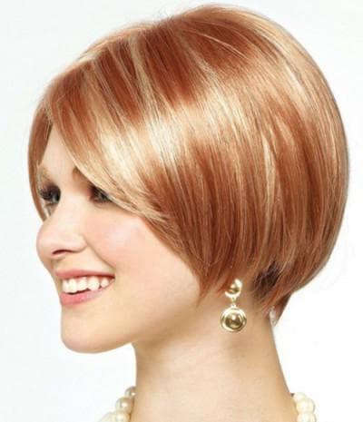 стрижка боб для тонких волос без укладки